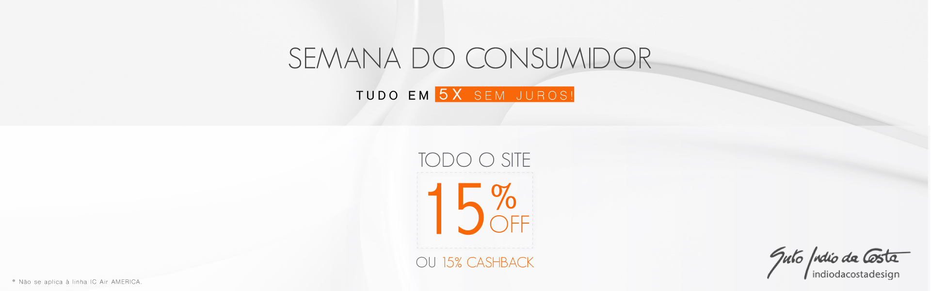 Semana do Consumidor SPIRIT: 15% de Desconto ou Cashback, Aproveite!