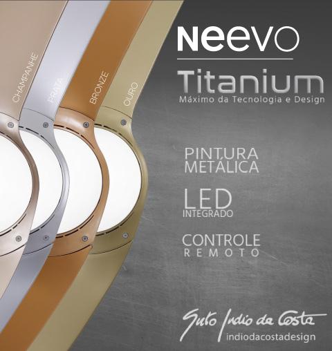 Ventilador de Teto Spirit Wind Titanium